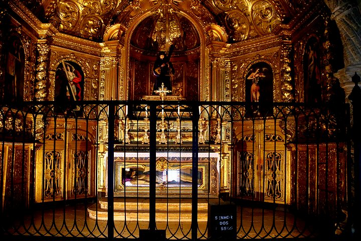Gold From Brazil in Monastery of St. Jerome